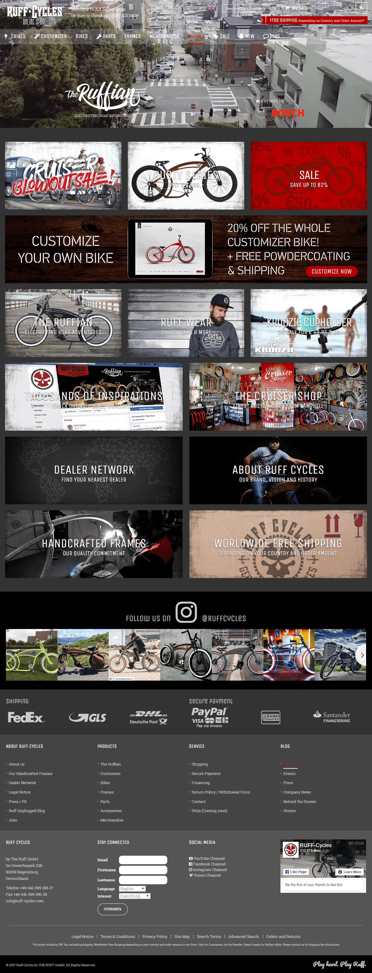 продвижение интернет магазина велосипедов и запчастей от webiseo
